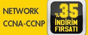 CCNA ve CCNP E�itimlerinde %35 �ndirim F�rsat�n� Ka��rmay�n!